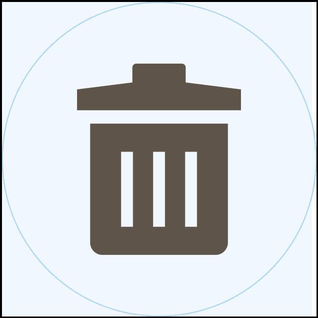 ゴミ箱清掃